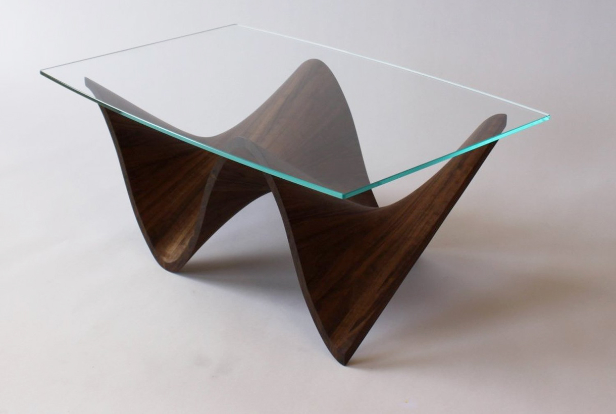 "Meet the Maker Behind Canada's Iconic ""Wave"" Wood Table"