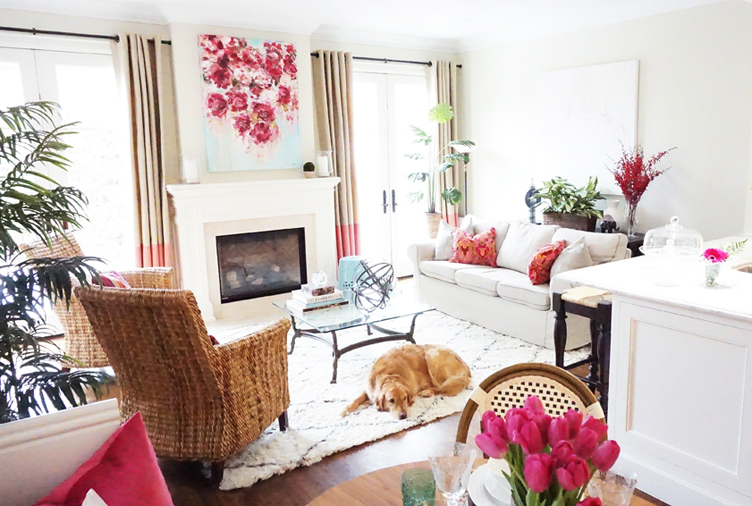 Family-Friendly Meets High-Fashion in This Toronto CEO's Pretty in Pink Home