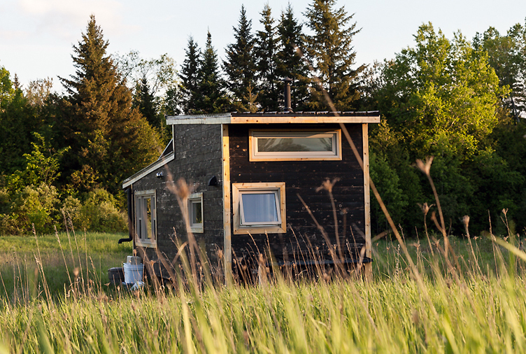 This Tiny Home in a Wildflower Meadow is as Off-the-Grid as it Gets