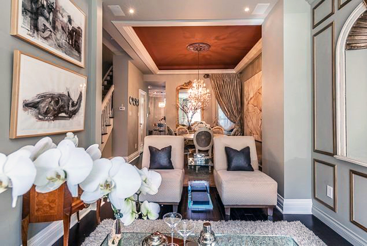 Toronto Home With Parisian-Inspired Interior Sells for $1.8M