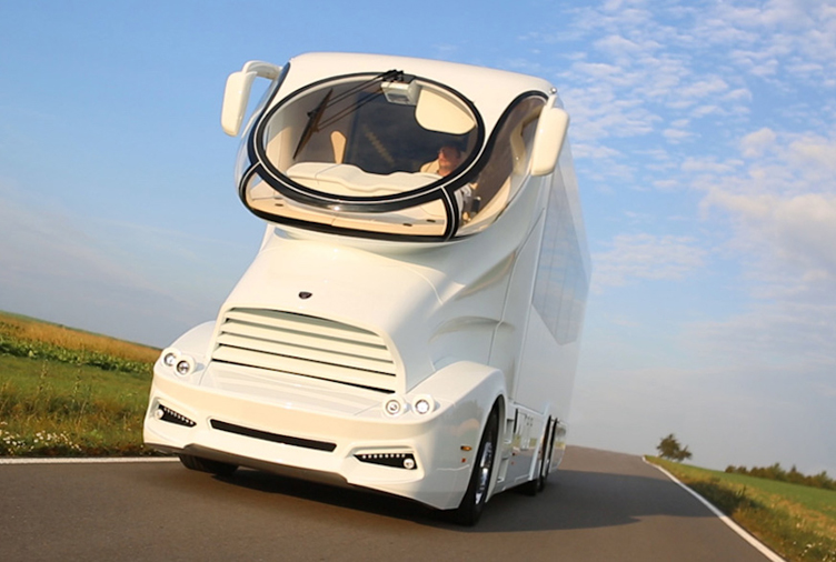 At $3 Million, the World's Most Expensive RV Hits the Road in Style