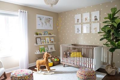 Oh She Glows' Angela Liddon Designs Her Son's Nursery