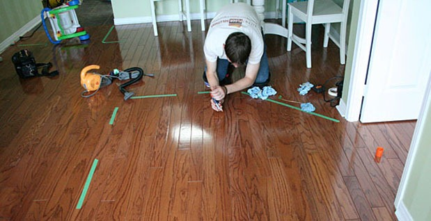 How to fix squeaky hardwood floors from above thefloorsco for How to fix squeaky hardwood floors from above