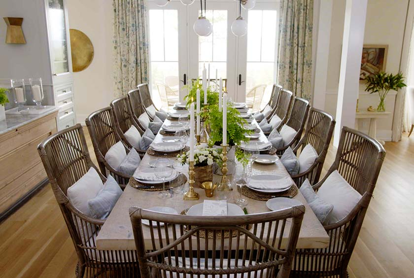 Shop the room sarah richardson kitchen dining room for Dining room off kitchen
