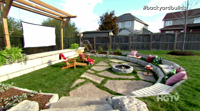 Backyard Builds Video Outdoor Theatre Hgtv Ca