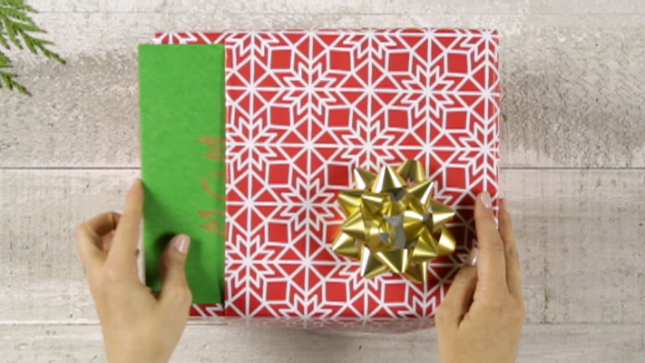 How to wrap a present video