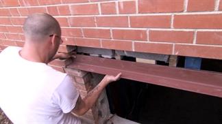 Income Property Video Installing A Lintel Hgtv Ca