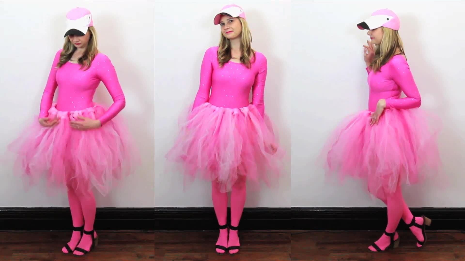 1 DIY Flamingo Costume  sc 1 st  HGTV Canada & Halloween with HGTV Video - DIY Flamingo Costume - HGTV.ca
